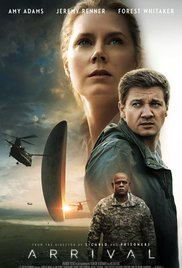 Poster for the movie Arrival.