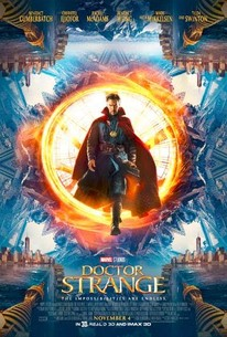 Poster for the movie Doctor Strange.