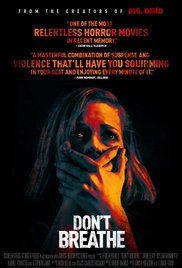 Poster for the movie Don't Breath.