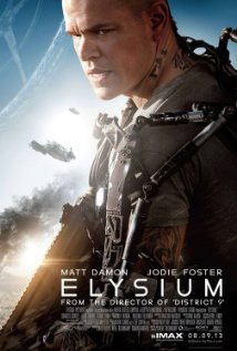 Poster for the movie Elysium.
