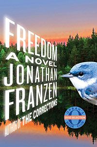 Cover of the novel Freedom by Jonathan Franzen.