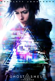Poster for the movie A Ghost in the Shell.
