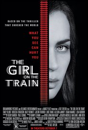 Poster for the movie The Girl on the Train.
