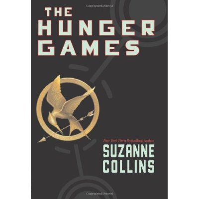 Cover of the novel The Hunger Games by Suzanne Collins.