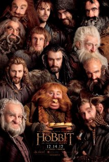 Poster for the movie The Hobbit.