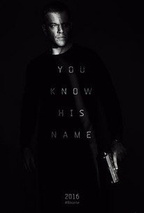 Poster for the movie Jason Bourne.