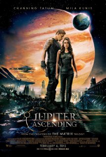 Poster for the movie Jupiter Ascending.