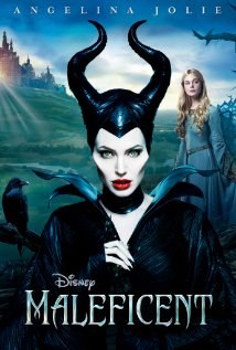 Poster for the movie Maleficent.
