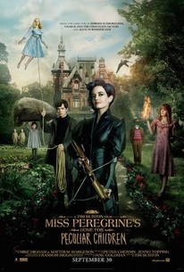 Poster for the movie Miss Peregrine's Home for Peculiar Children.