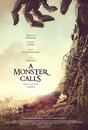 Poster for the movie A Monster Calls.