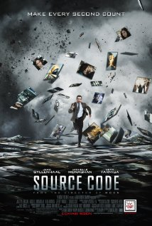 Poster for the movie Source Code.