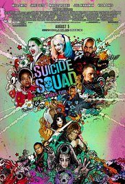 Poster for the movie Suicide Squad.