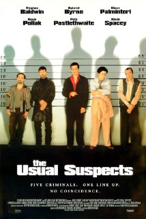 Poster for the movie The Usual Suspects.