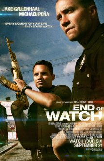 Poster for the movie End of Watch.
