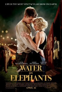 Poster for the movie Water for Elephants.